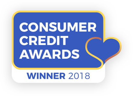 Consumer credit award - Winner 2018