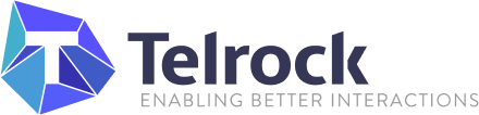 Telrock colored logo