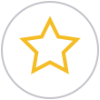Orange Star Icon | Telrock