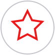Red Star Icon | Telrock